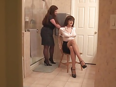 Wife Ohphelia Catches Sandra Dressing!