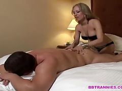 Sensual massage turns wild