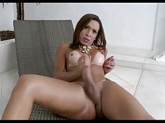 Travesti brasileira Gabrielli Bianco
