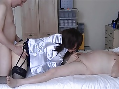 Maria Satin's - Landlady's Satin Fun Part 3