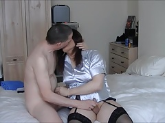Maria Satin's - Landlady's Satin Fun Part 5