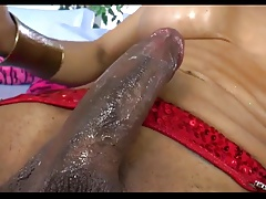 Beautiful Tranny in hardcore fuck with cute girl