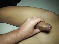 Oiled up ladyboy
